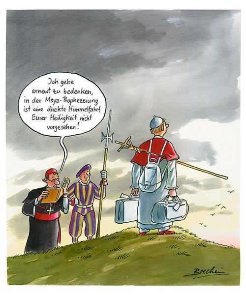 Himmelfahrt Lustig